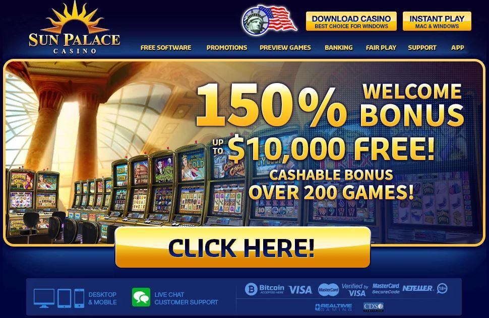 Sun Palace Casino Review