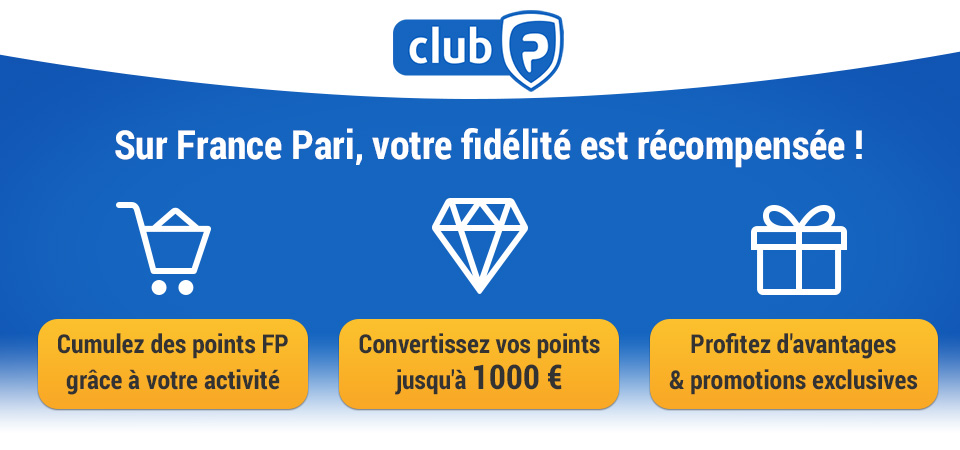 France-Pari programme fidélité