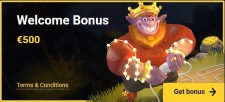 The Welcome Bonus at ZetCasino