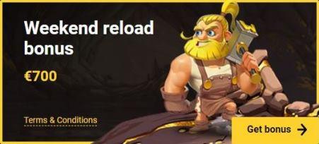 Weekend Reload Bonus $700