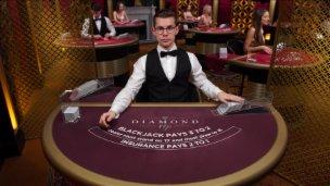 Blackjack Diamond VIP £1000