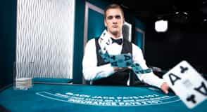 Jetbull Live Blackjack Silver Table 5
