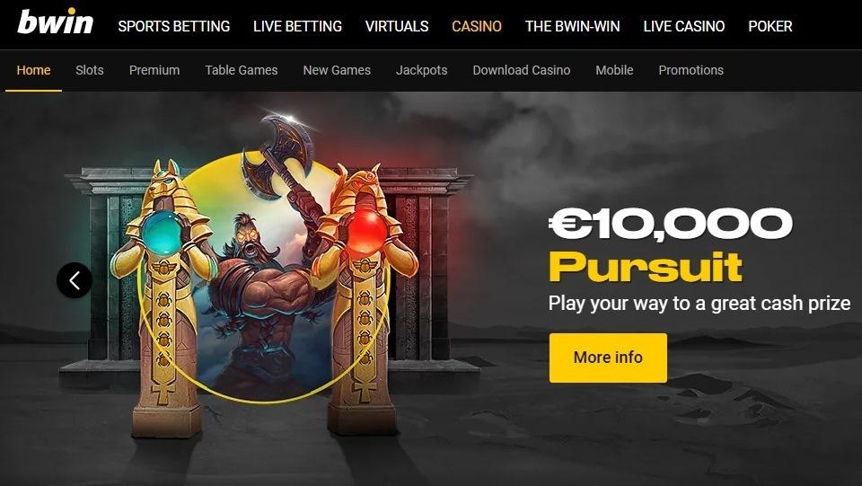 Bwin Casino Screenshot