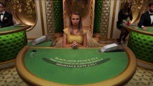 Salon Privé Blackjack 1 £1000