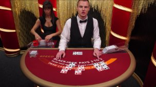 Speed Blackjack A £10