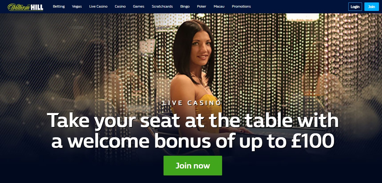 WilliamHILL Live Dealers Casino Screenshot