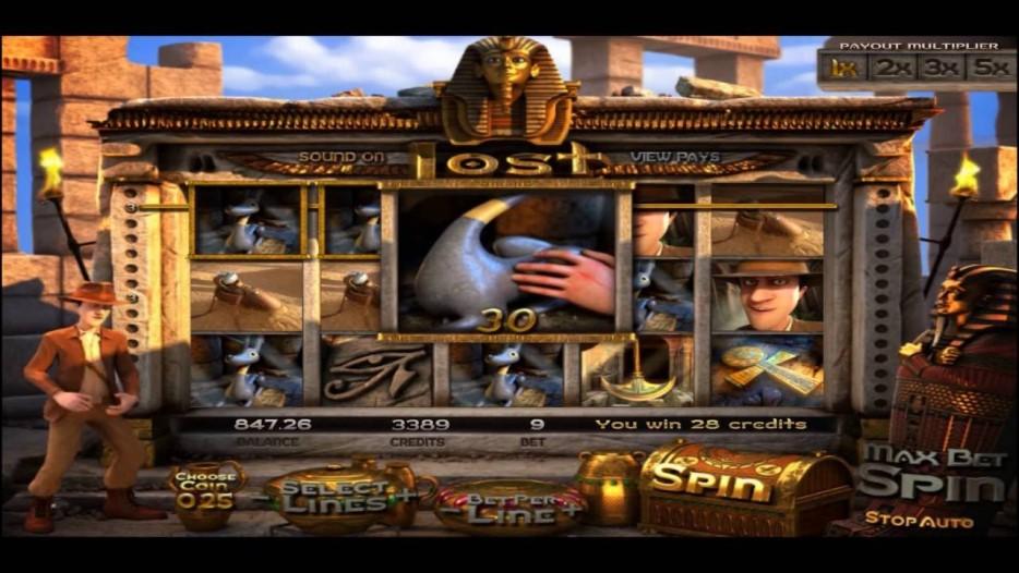 Unique Casino Review Betsoft Lost