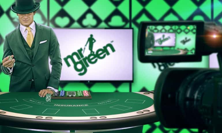 mr green review live casino