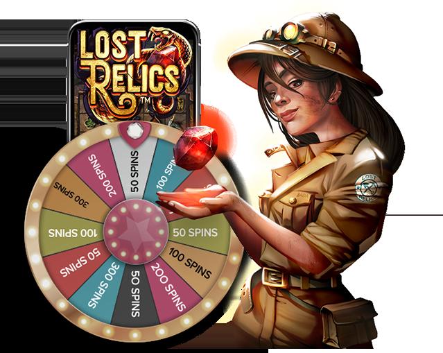Lost Relics Free Slot Machine
