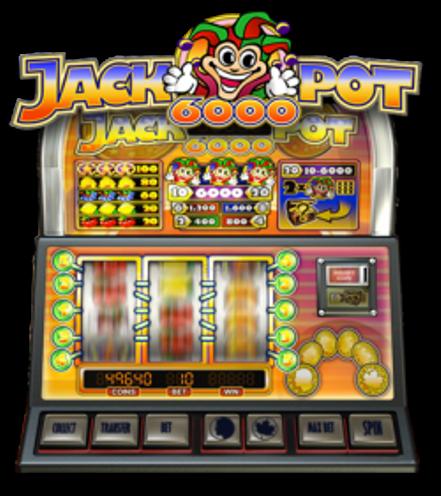 Play Jackpot 6000 Free Slot
