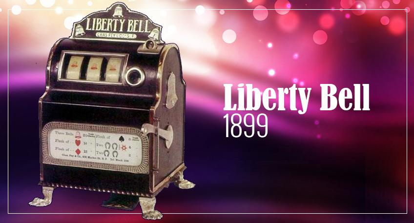 Liberty Bell - le Preumier Jackpot Progressif