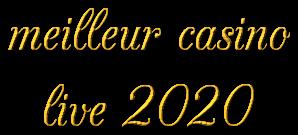 meilleur casino live 2020