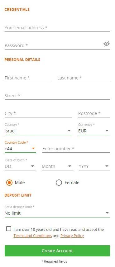 Bensson Registration